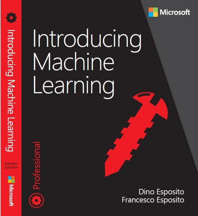 introducing machine learning book, author dino Esposito and francesco esposito